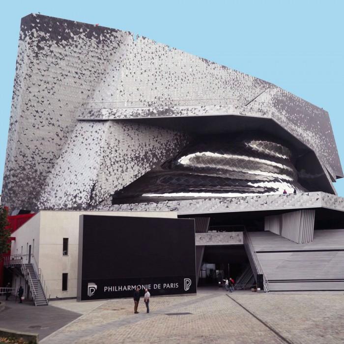 Backstage Philharmonie de Paris